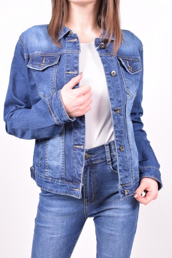 Пиджак женский джинсовый X&D FASHION Размеры в наличии : 40,42,44,46,48 арт.L005