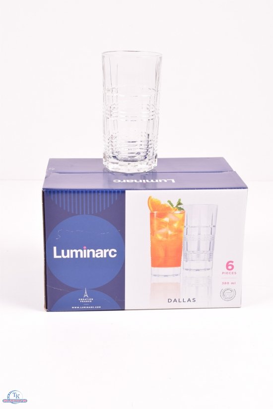 "Набор стаканов 380мл ""Dalas"" цена за 6шт LUMINARC арт.P6611"