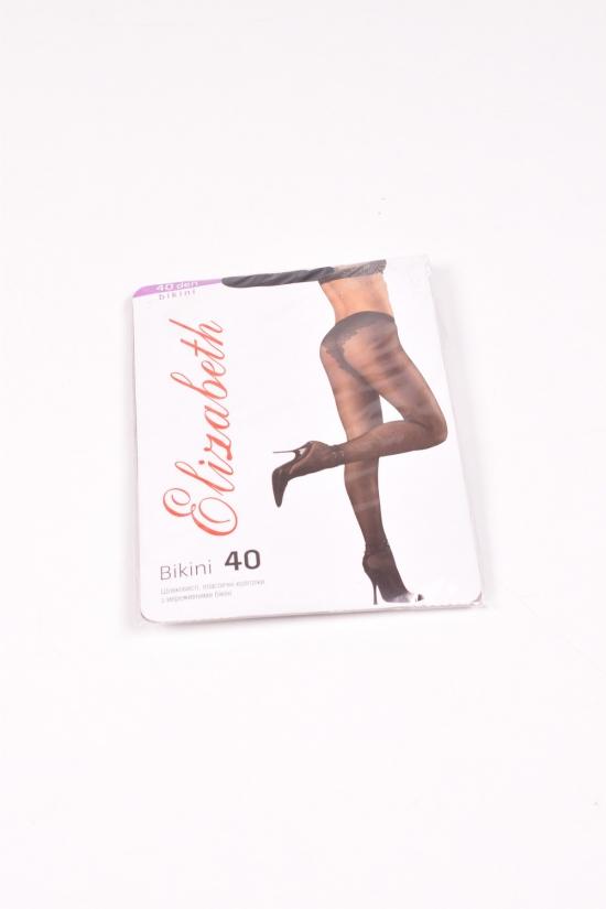 Колготки женские 40den (nero)  Elisabet Размер в наличии : 4 арт.BIKINI
