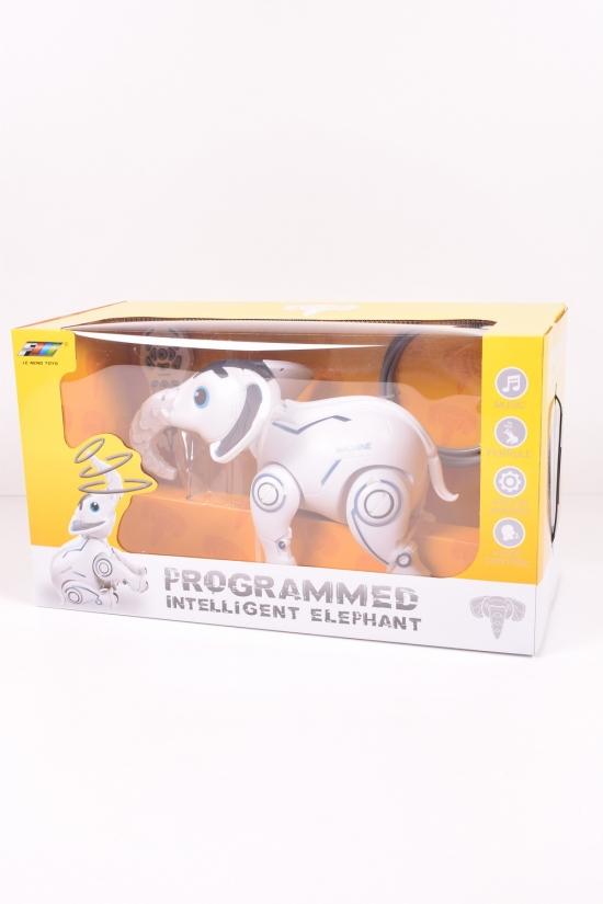Животное на р/у (Слон, свет, звук, движение, пульт) арт.K17