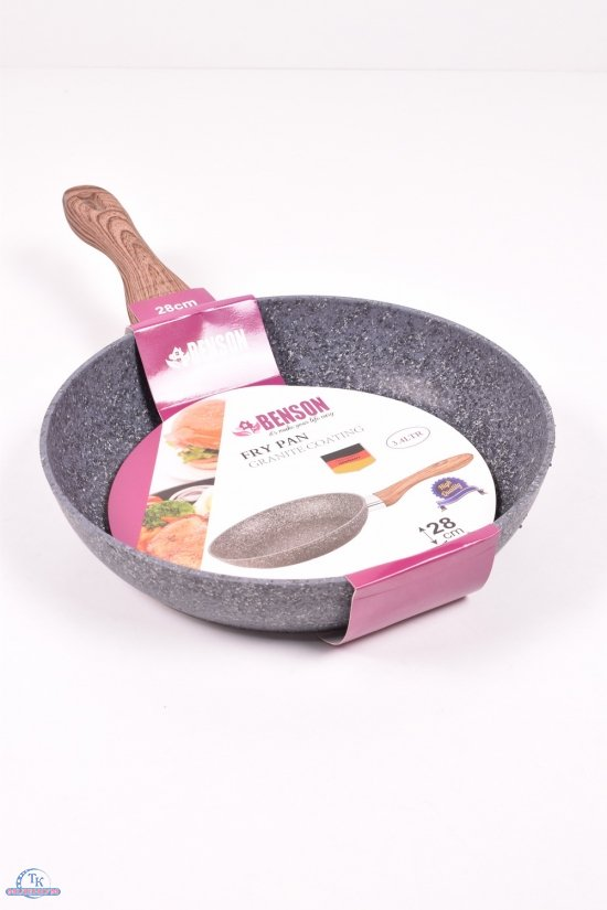 Сковорода с гранитным покрытием (d-28см) Benson арт.BN-536