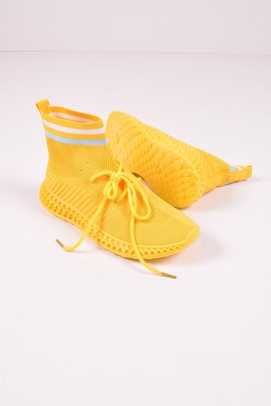 """Мокасины женские (цв.желтый) """"Башили"""" Размеры в наличии : 37,38 арт.B31"""