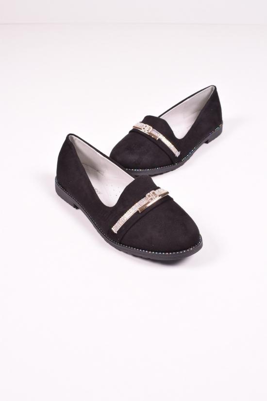 Туфли для девочки BESSKY Размеры в наличии : 33,35 арт.YJ9919-4B