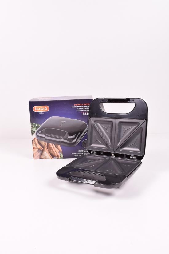Сэндвичница 750Вт. (антипригарное покрытие) MAGIO арт.MG-368