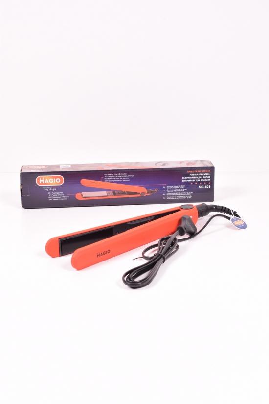 Выпрямитель для волос 30-35W Magio (двух слойные керамические пластины) арт.MG-601