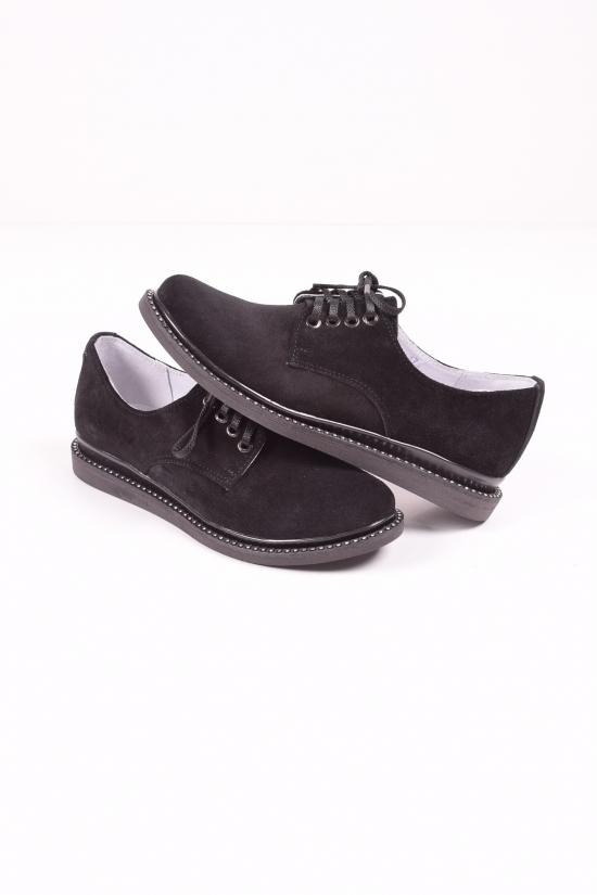 Туфли женские (цв.чёрный) из натуральной кожи VICHI Размеры в наличии : 36,37,39,40 арт.15/063