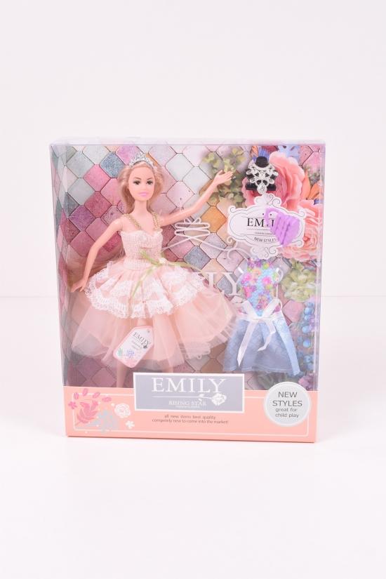 "Кукла ""Emily"" (с  аксессуарами) 28/6/32 см арт.QJ077C"