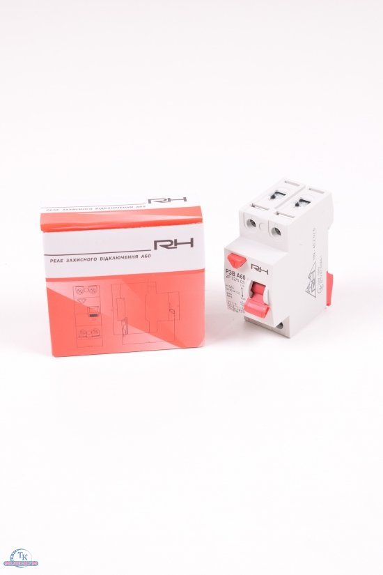Устройство защитного отключения УЗО RH 2P 32A 30mA арт.HN-402026
