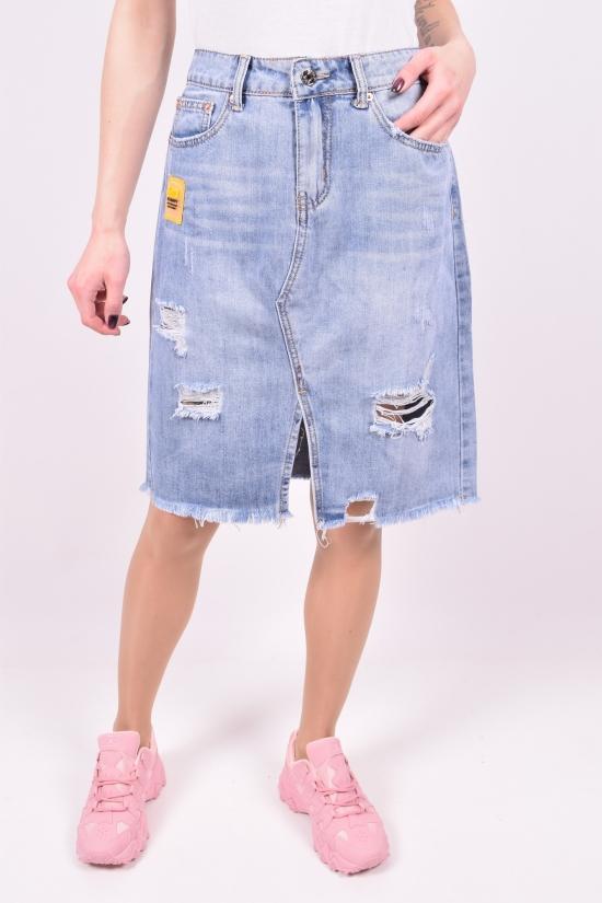 Юбка джинсовая женская NewJeans Размеры в наличии : 25,26,27,28,29,30 арт.D3701