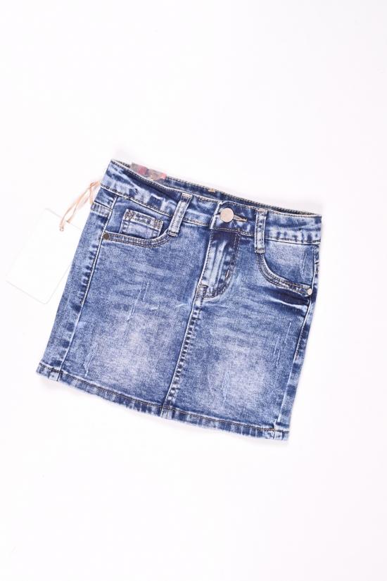 Юбка джинсовая для девочки Miss Happy Роста в наличии : 116,122,128,140,146 арт.D094