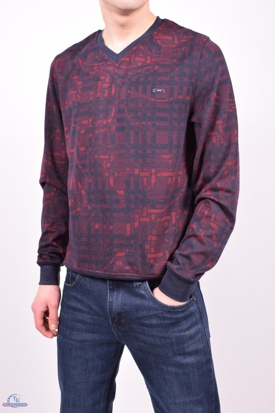 Полувер мужской (цв.бордовый) Stendo Размеры в наличии : 46,48 арт.VS191348