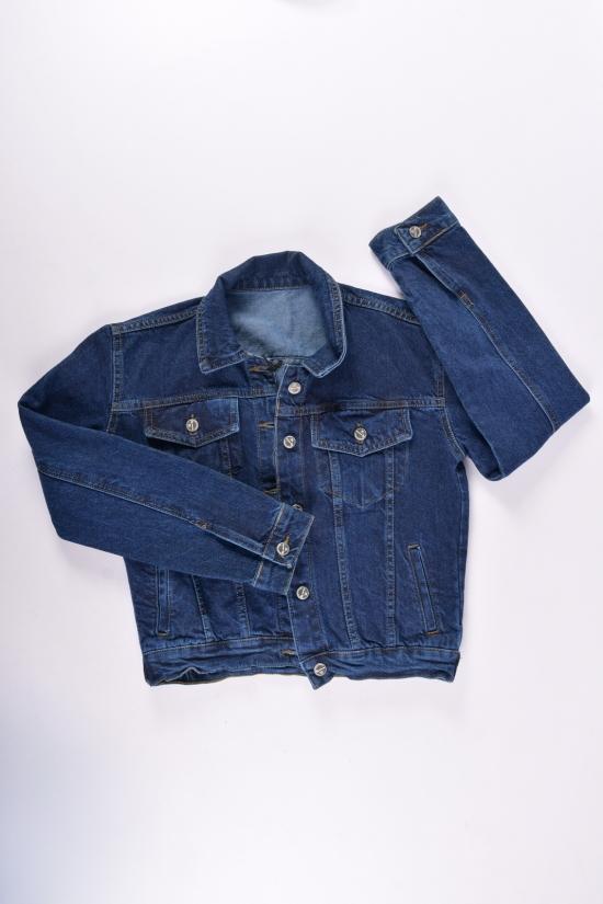 Пиджак джинсовый женский (цв.синий) HKG Размеры в наличии : 42,44,46,48,50 арт.2368