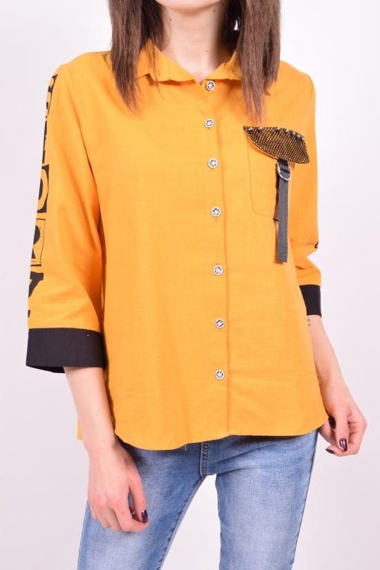 Рубашка женская Размеры в наличии : 42,44,46,48 арт.15943