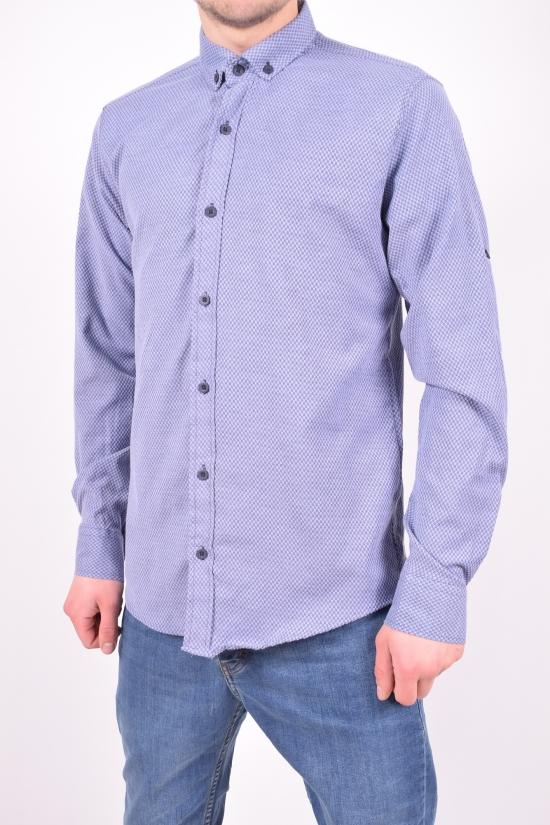 Рубашка мужская стрейчевая (цв.серый) Ronex Размеры в наличии : 44,46,48,50,52 арт.2458