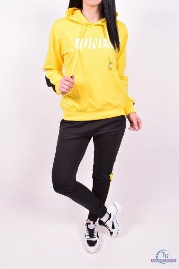 Костюм женский (цв.желтый) спортивный трикотажный Godsend Размер в наличии : 44 арт.E-8973