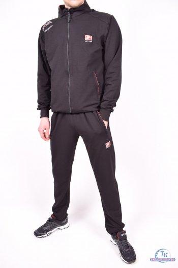 Костюм спортивный мужской трикотажный (цв.чёрный/красный) Nike Размеры в наличии : 48,50,52,54,56 арт.320