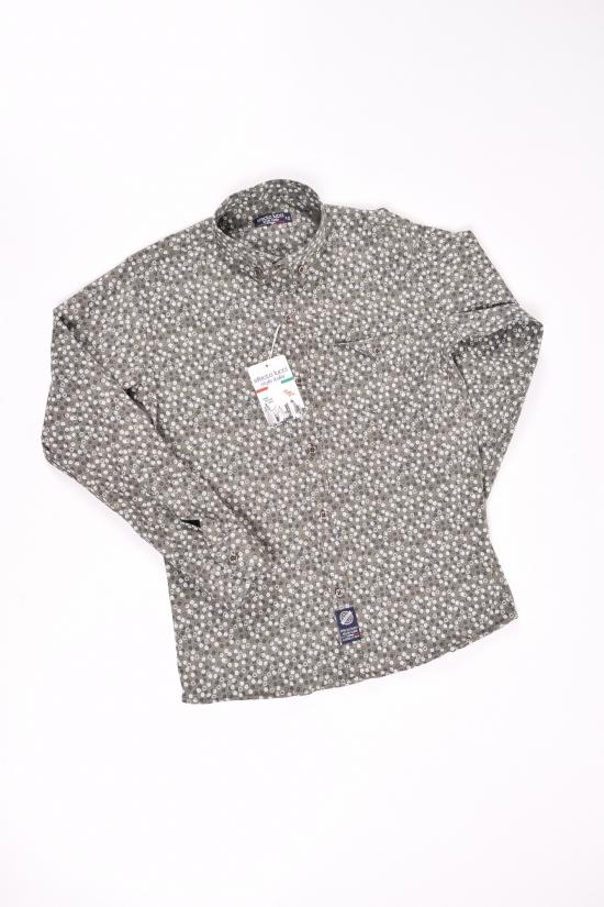Рубашка для мальчика (цв.хаки) EFECTO Роста в наличии : 98,104,110,116,122,134 арт.3/7
