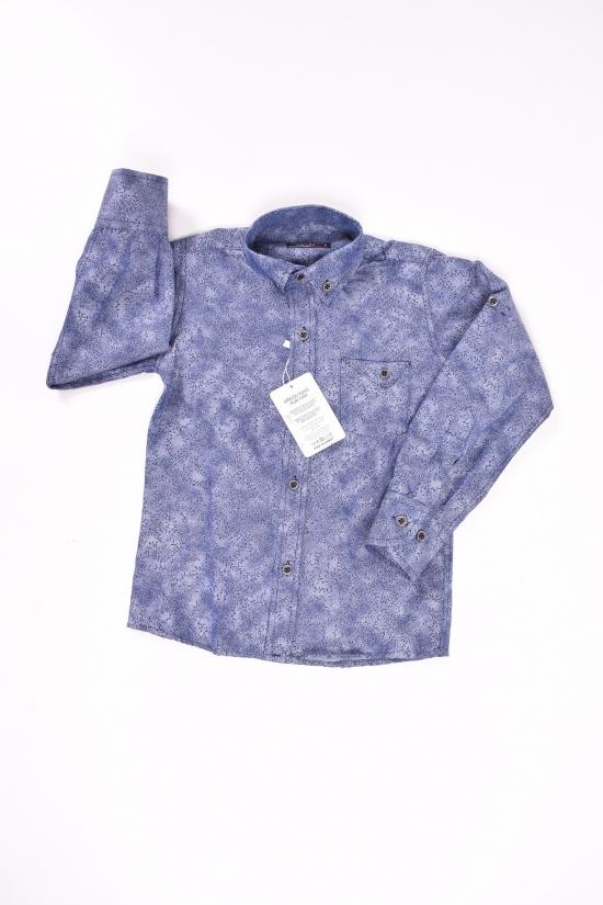 Рубашка для мальчика (цв.синий) EFECTO Роста в наличии : 98,104,110,116,122 арт.3/7