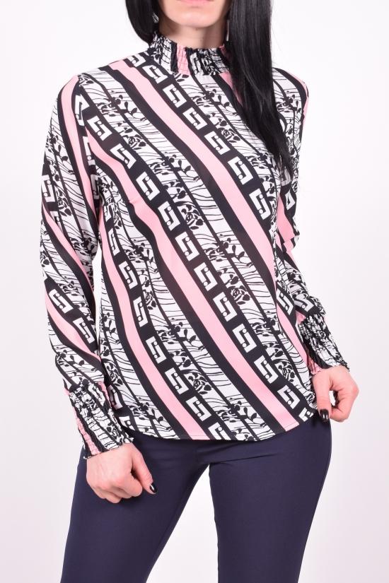 Блузка женская   шифоновая   KARAKAS Размеры в наличии : 42,44,46,48 арт.6303