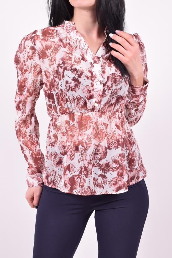 Блузка женская   шифоновая   KARAKAS Размеры в наличии : 40,42,44,46,48 арт.6265