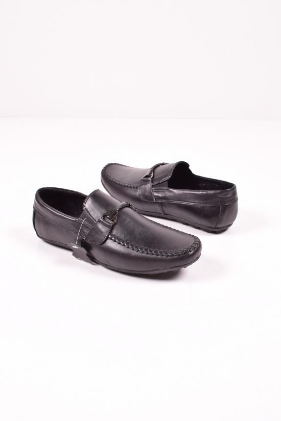 Мокасины мужские из натуральной кожи DAN shoes Размеры в наличии : 42,43,44,45 арт.Pr065-10/52