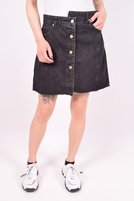 Юбка женская джинсовая Saint Wish (Cotton 100%) Размеры в наличии : 25,26,27,28,29,30 арт.S9114