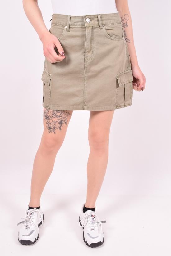 Юбка женская джинсовая Saint Wish (Cotton 100%) Размеры в наличии : 40,42,44,46,48 арт.S9055-11