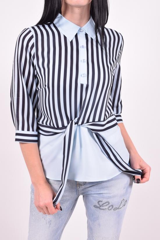 Блузка женская  стрейчевая  BASE Размеры в наличии : 42,44,46,48,50 арт.B6201