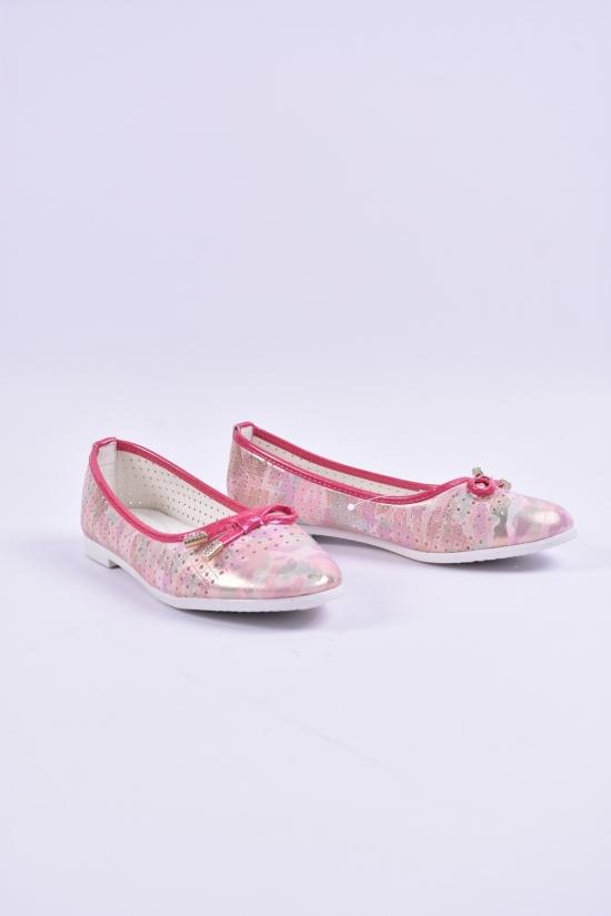 Туфли для девочки W.niko Размеры в наличии : 32,33,34,35,36,37 арт.H90-7