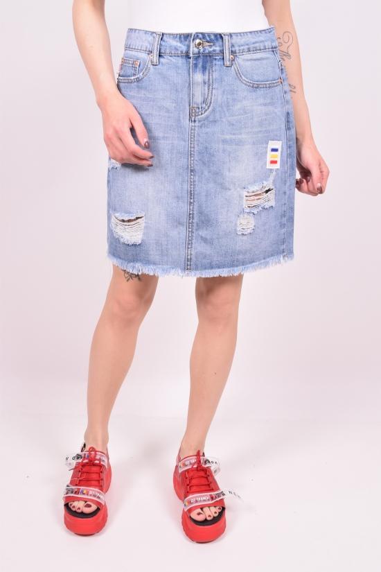 Юбка джинсовая женская NewJeans Размеры в наличии : 25,26,27,28,29,30 арт.D3697