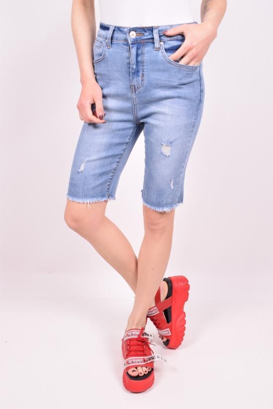 Шорты женские джинсовые стрейчевые NewJeans Размеры в наличии : 25,26,27,28 арт.D3746
