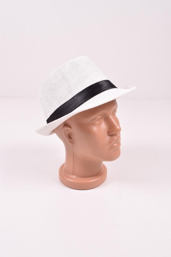 Шляпа для мужчины (цв.белый) (Linen 100%) арт.сетка6