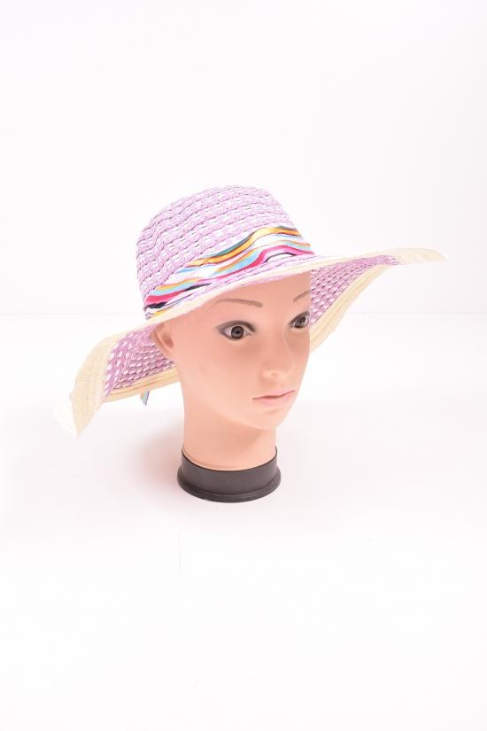 Шляпа женская (цв.сиреневый) арт.0308