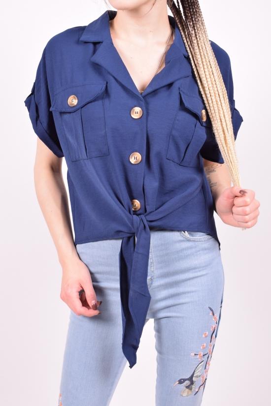 Блузка женская Anne (Polyester 100%) Размеры в наличии : 48,50,52 арт.L6050