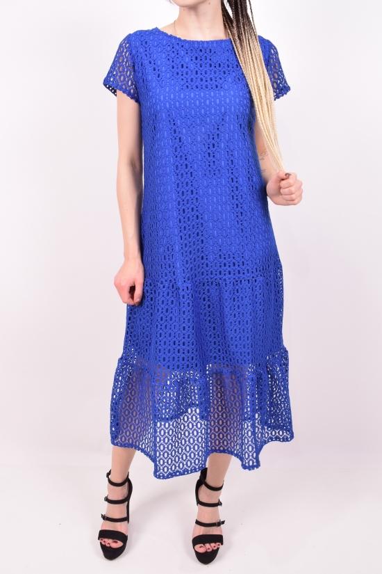 Платье женское (цв.синий) SVS Размеры в наличии : 42, 44, 46 арт.692
