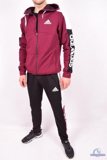 Костюм мужской трикотажный (цв.малиновый) Adidas Размеры в наличии : 44,46,48,50,52 арт.010101