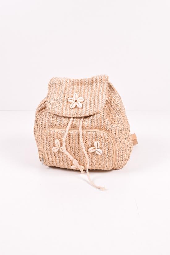 Рюкзак пляжный  размер 36/30/9см арт.YW-MS-6001