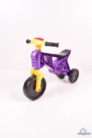 Мотоцикл беговел (цв.бузковый) арт.171