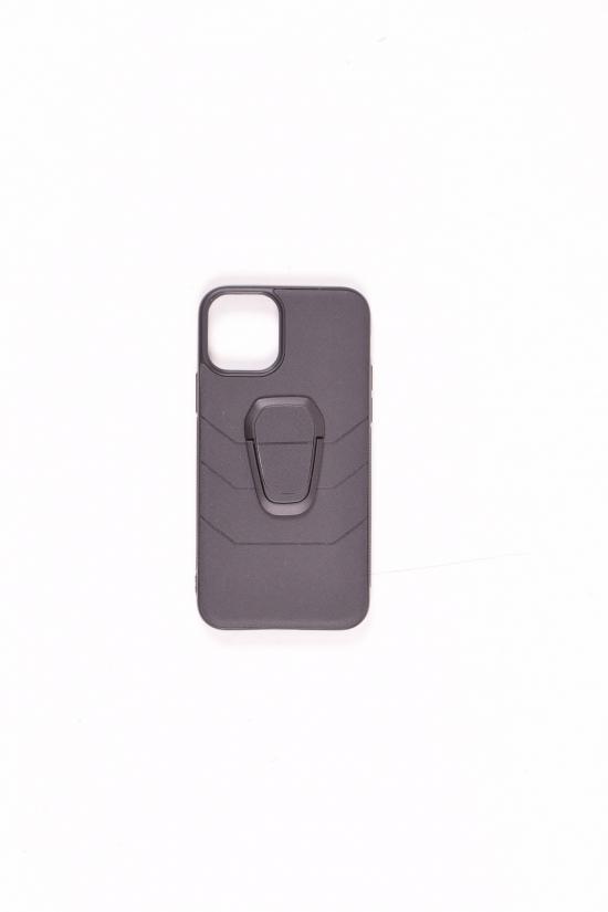 Чехол с кольцом iPhone 11 (Black) арт.iPhone 11
