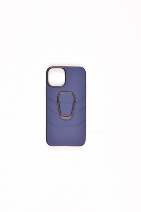 Чехол с кольцом iPhone 11 (Blue) арт.iPhone 11