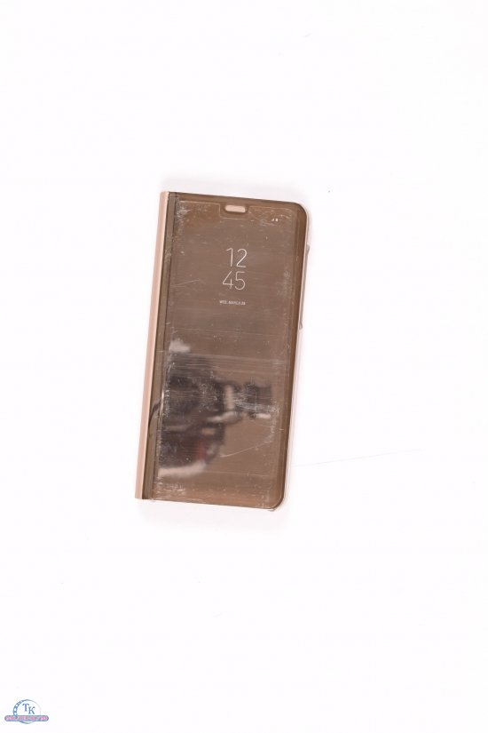 Чехол-книжка Samsung For A8 Plus (2018) (Gold) арт.For A8 Plus (2018)