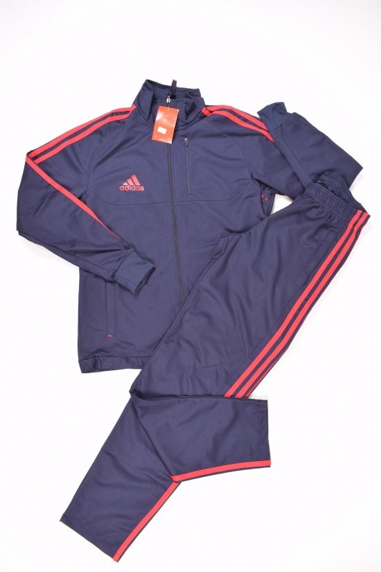 Костюм спортивный (цв.т.синий/красный) для мальчика (юниор)  трикотажный Nike Размеры в наличии : 42,44,46,48,50 арт.909