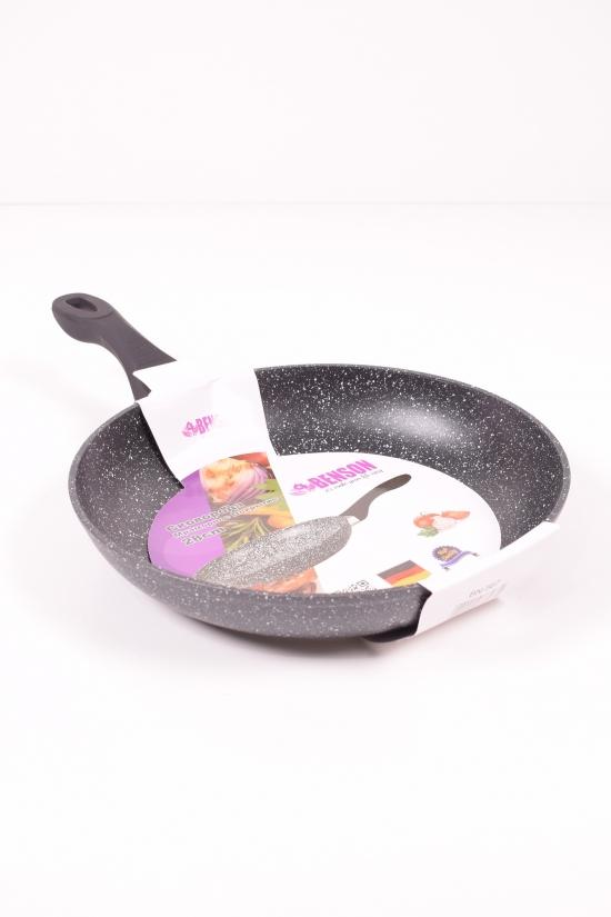 Сковорода с мраморным покрытием (d-28см h -5.2см) Benson арт.BN-567