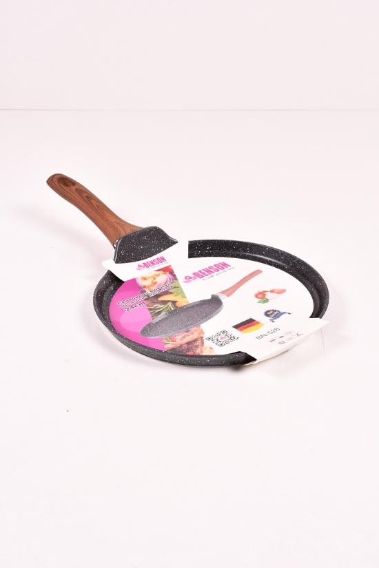 Сковорода блинная с мраморным покрытием (d-24см) Benson арт.BN-528