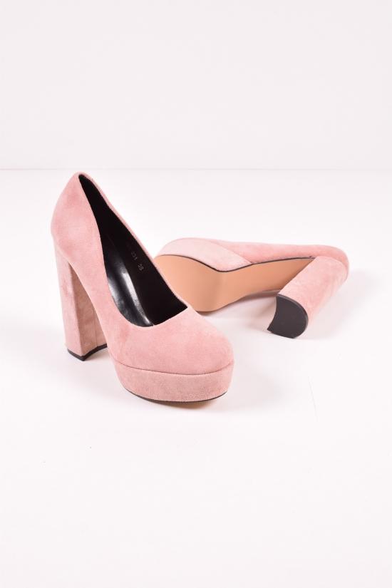 Туфли женские (цв.nude-pink) Meideli Размеры в наличии : 36,38,39,40 арт.986-231