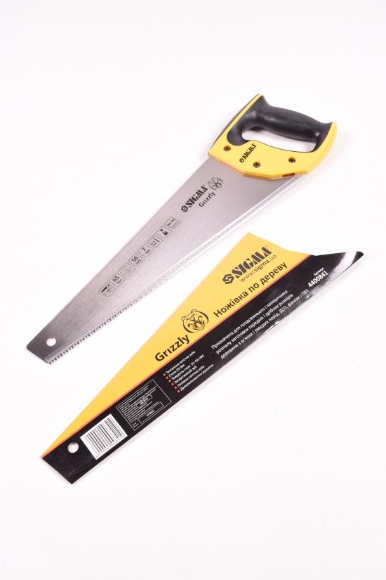 Ножовка по дереву 400 мм. GRIZZLI 7TPI арт.4400841