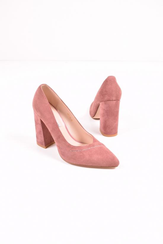 """Туфли женские замшевые """"LINO MARANO"""" Размеры в наличии : 35,36,37,38,39 арт.Y471-31"""
