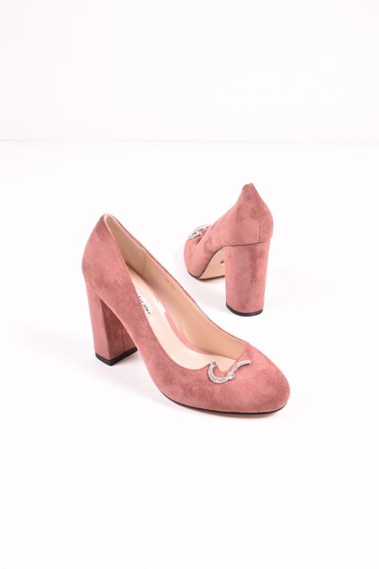 """Туфли женские замшевые """"LINO MARANO"""" Размеры в наличии : 35,36,37,38,39,40 арт.A227-31"""