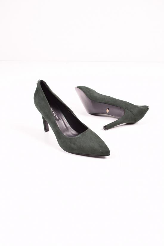 """Туфли женские замшевые """"LINO MARANO"""" Размеры в наличии : 35,36,37,38,39 арт.R2-16"""