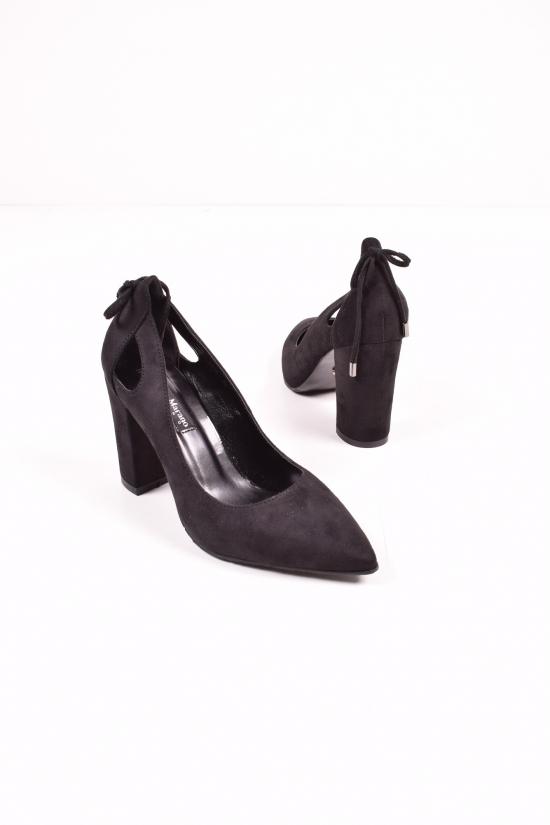 """Туфли женские замшевые """"LINO MARANO"""" Размеры в наличии : 35,36,37,38,39 арт.AC133-6"""